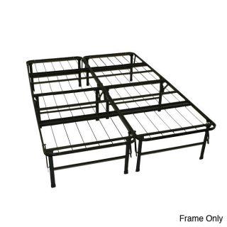 durabed full size steel foldable platform bed more options option