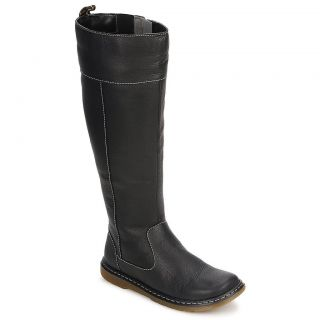 womens dr martens haley black knee high leather boots more