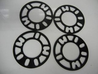 Wheel Spacer adapters 5x100 5X114.3 5lug 4mm thick universal fit