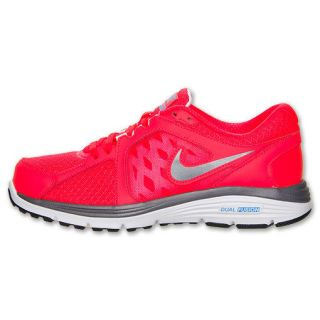 Nike WMNS Dual Fusion Run Bright Crimson/Grey 525752 601 Sz 7   10