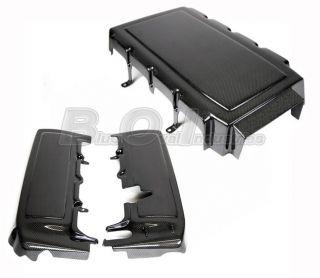 2005 2010 Ford Mustang GT V8 Carbon Fiber Engine Plenum & Fuel Rail