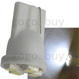 T10 White 4 3528 SMD LED Wedge Tail Car Light Bulbs 194 168 W5W 12V