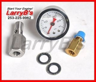 dodge cummins 12 valve quickgauge fuel pressure gauge  84