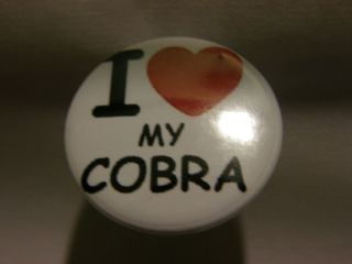 MY COBRA 25MM BUTTON PIN BADGE COBRA 148 GTL DX RETRO ITEM