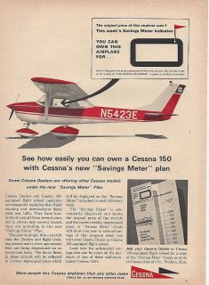 cessna 150 aircraft ad 4 27 12 time left $