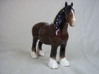 beswick shire horse figurine  198 29 or