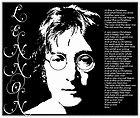 The Beatles John Lennon Music Legend Bumper Laptop Locker Decal