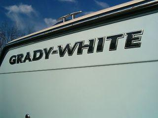 GRADY WHITE NEW 2012 OEM HULL LOGO 180   283   TAX FREE