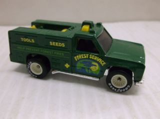 MATTEL 1974 HOT WHEELS FOREST SERVICE UTILITY TRUCK DIE CAST TOY CAR