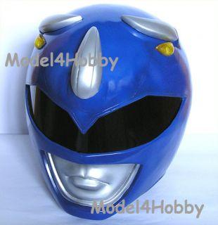Cosplay Mighty Morphin Power Rangers BLUE Ranger 1/1 Scale Helmet