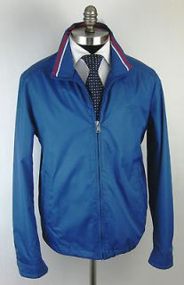 New PAUL & SHARK Yachting Collection Italy Blue Jacket Coat Medium M