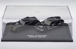 AUTO ART 52745 MAD MAX INTERCEPTOR & ENEMY CAR TWIN SET MAD MAX 2 FILM