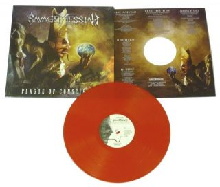 Savage Messiah Plague Of Conscience Red Vinyl   NEW   300 ONLY!