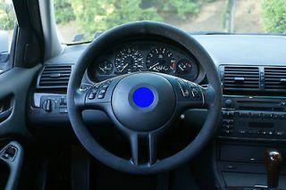 alcantara steering wheel cover bmw 3 series e46 for standard