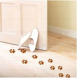 16 animal paw print vinyl art deco sticker wall car more options
