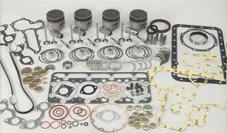 BOBCAT 642E & 643L MODELS KUBOTA D1402 3 CYLINDER BASIC ENGINE REBUILD