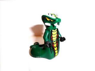 Lego Ninjago ACIDICUS MINIFIGURE   Green Snake Minifig 9450 NEW