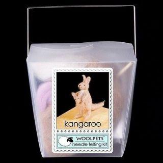 woolpets kangaroo needle felting kit  18 99