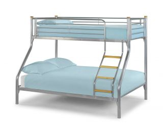 bunk bed with single bed frame on top  314 08