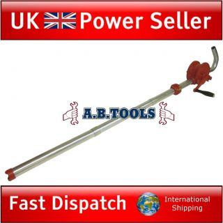 Self priming rotary barrel pump / fuel / oil pump / hand adjustable