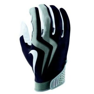 Mens Nike Magnigrip CL Vapor Trail Football Gloves Black   $38  Size