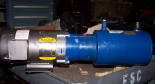 DYNA PACK M 404 HYDRAULIC PUMP WITH TANK AND BALDOR MOTOR 1.5 HP 56C
