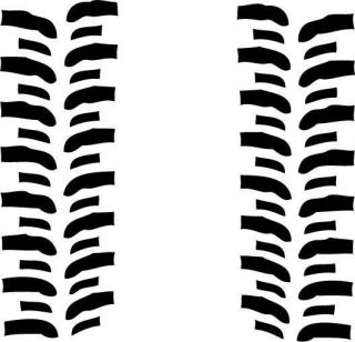 Super Swamper Bogger tread decals Off Road 4X4 Jeep Rock Crawler 48