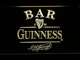 newly listed 427 y bar guinness beer neon light sign