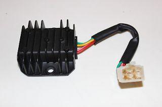 Voltage Regulator 4 Wire for 125cc   250cc ATV, Dirt Bike Honda Yamaha