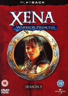 Xena Warrior Princess Complete Season 5 DVD Action Adventure TV Series