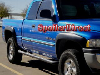 Dodge RAM Factory Style Fender Flares   TEXTURED FINISH   4 Pieces