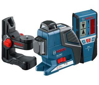 Bosch GLL2 80P + BM1 + LR2 Line Laser + Wall Mount + Receiver