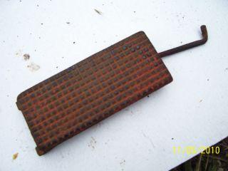 vintage ji case tractor foot throttle pedal vt 269 time
