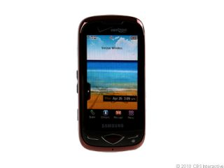 Verizon Samsung Reality U820 3G Camera QWERTY Used Red Cell Phone