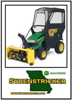 new john deere 100 series snow cab weather enclosure time