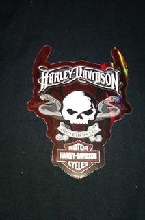Harley Davidson Snake & Skull stickers, motorcycle helmet sticker