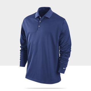 Nike Dri FIT Stretch Tech Long Sleeve Mens Golf Polo 381236_467_A