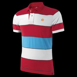 Nike Nike Grand Slam Bold Stripe Mens Polo  Ratings