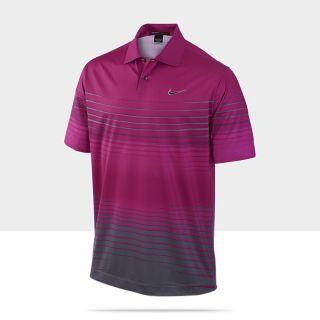 TW Gradient Stripe Mens Golf Polo Shirt 483625_654_A