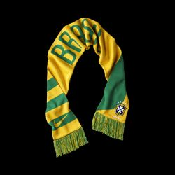 Nike Nike Brasil National Team Soccer Scarf Reviews & Customer Ratings