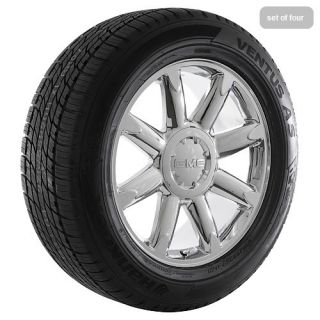 20 inch 2009 GMC Sierra 2009 Yukon Denali Chrome Rims Wheels and Tires