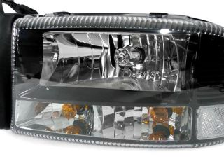 97 98 99 00 01 02 03 04 DODGE Dakota / Durango Clear Corner Bi XENON