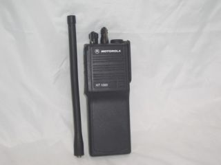 Motorola HT 1000 2channel VHF Hand Held Radios Antenna No battery