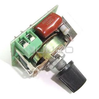 500W SCR AC 220V Voltage Regulator Motor Speed Controller Thermostat