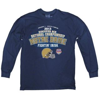 Notre Dame Fighting Irish 2013 BCS National Championship Game Vintage