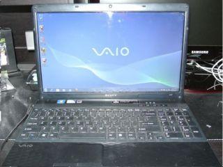 Vaio Vpceh Laptop Pentium 2GHz 4GB RAM 500GB HD Win7 OS 64bit