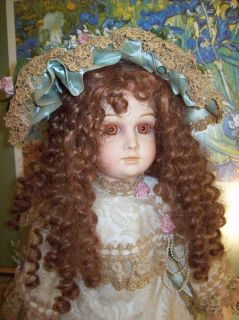 PATRICIA LOVELESS 28 TORY ANTIQUE REPRODUCTION BISQUE TETE JUMEAU used