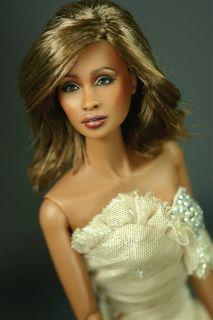 OOAK Fashion Royalty Adele Repaint as Whitney Houston