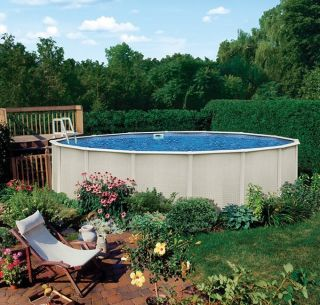 18 x 48 Round Above Ground Metal Frame Swimming Pool Only