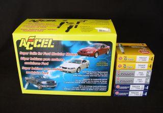 Accel Ford 2 Valve 4 6L 5 4L 6 8L Super Coils 140032 8 NGK Spark Plugs